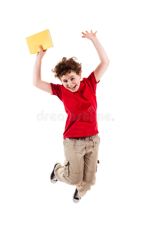 Free Young Boy Jumping Stock Photos - 15962823