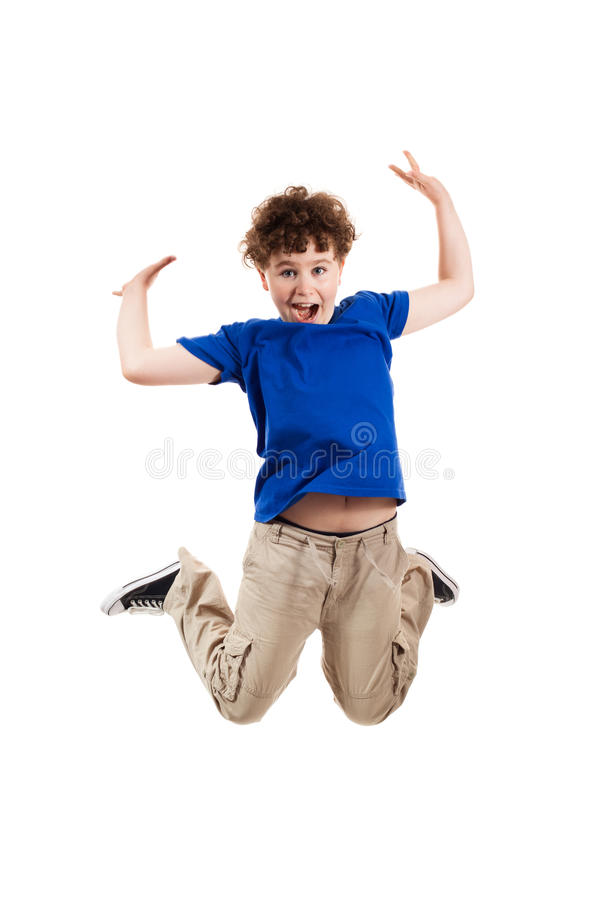 Download Young Boy Jumping Stock Images - Image: 16190454