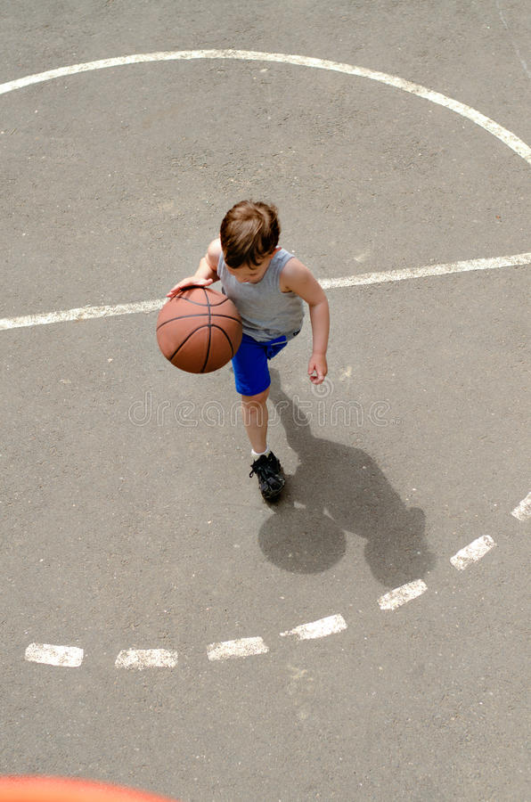 Boy Playing Basketball Stock Images - Download 3,260 ...