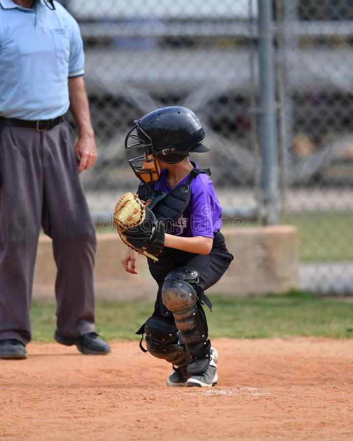 Free Young Boy Playing Little League Baseball Royalty Free Stock Photography - 117839387