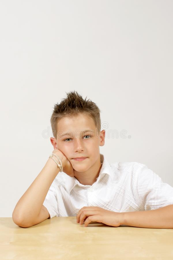 Young Boy - Portrait Royalty Free Stock Image