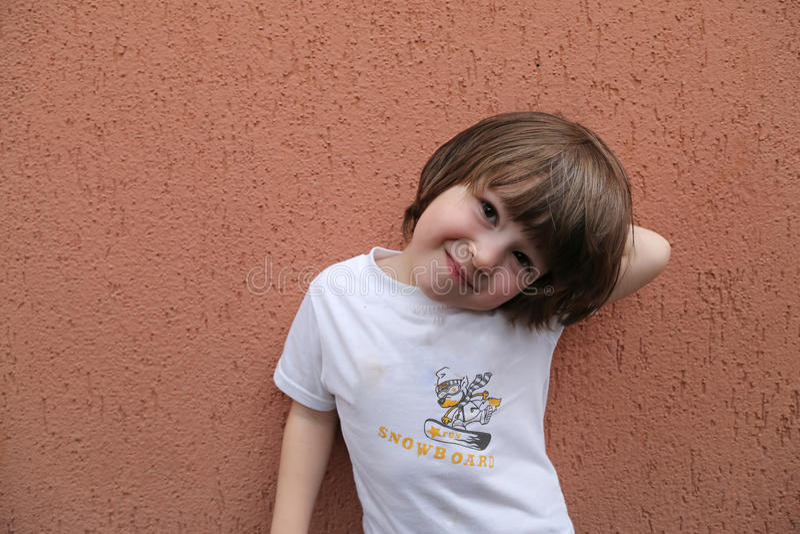 Hair Photos Boy Download: Long Hair Toddler Boy Stock Photo. Image Of Background