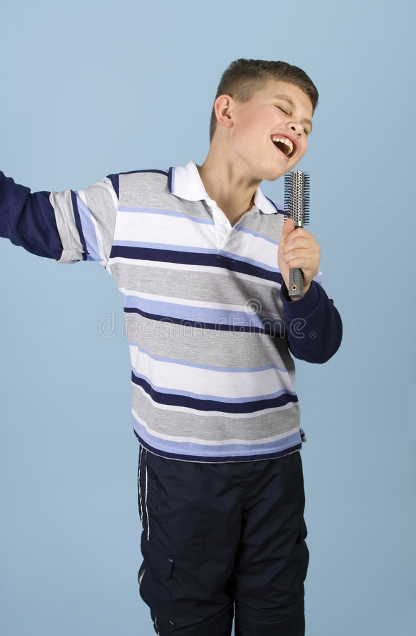 Free Young Boy Rock Star Wannabe Stock Photos - 1782293