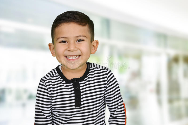 Young Boy At School stock photography