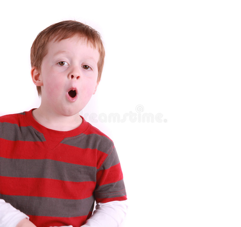 Download Young boy singing stock photo. Image of isolated, singing - 7384774