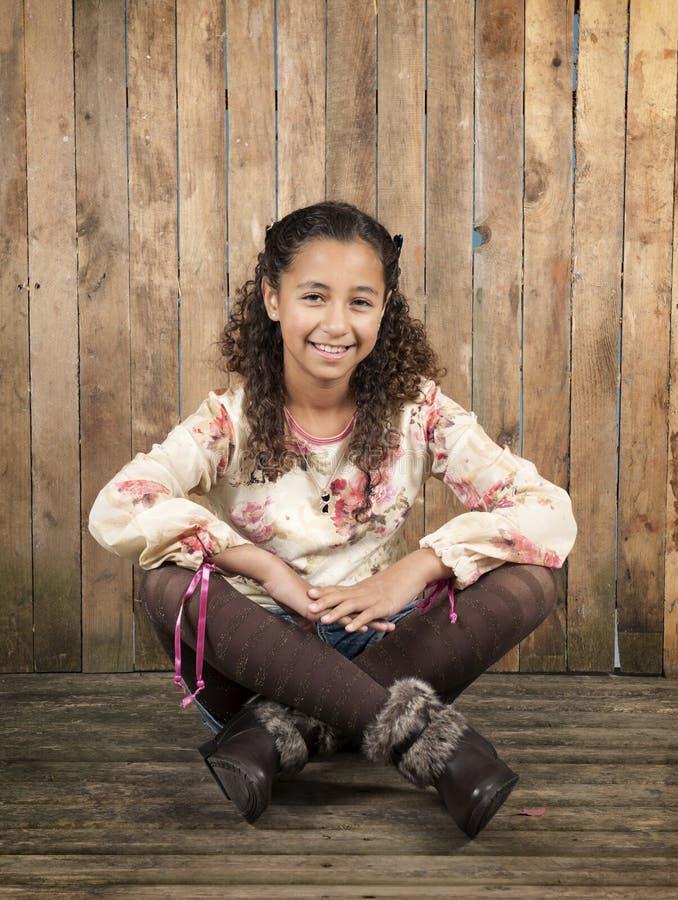 Young brazilian girl stock photography