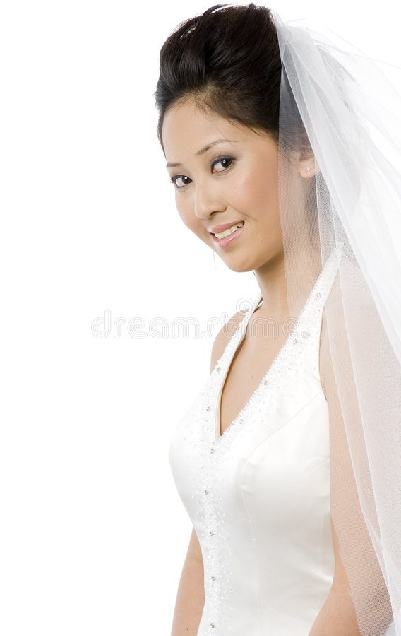 Download Young Bride stock photo. Image of bride, sitting, veil - 2302298