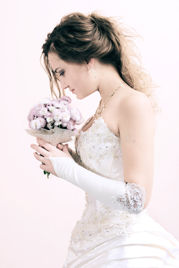 Download Young bride stock photo. Image of beautiful, happiness - 3527298
