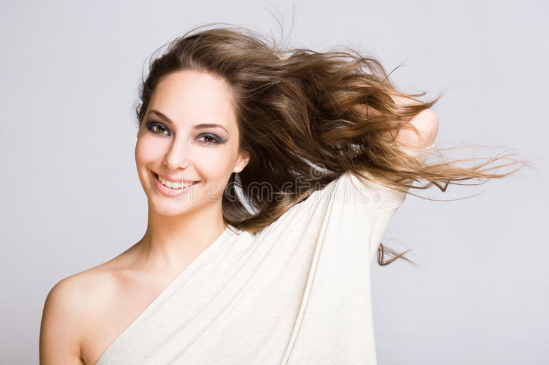 Download Young Brunette Woman. Royalty Free Stock Images - Image: 25578919