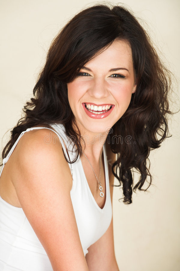 Free Young Brunette Woman Royalty Free Stock Photos - 3819098