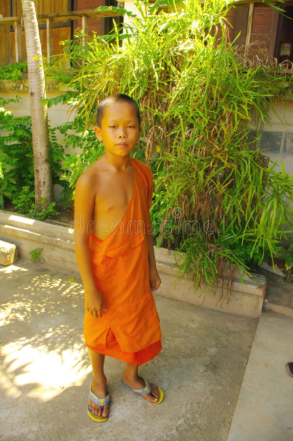 Download Young Buddhist monk editorial photography. Image of buddha - 20824307
