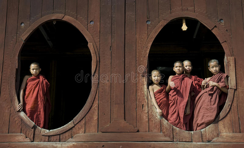 Download Young Buddhist Monks 2 Editorial Image - Image: 12275660