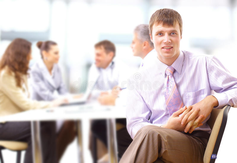 Download Young business executive stock image. Image of interracial - 18512803