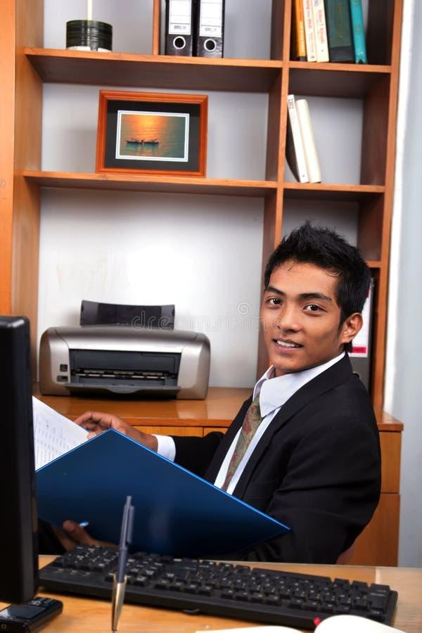 Young business executive royalty free stock photos