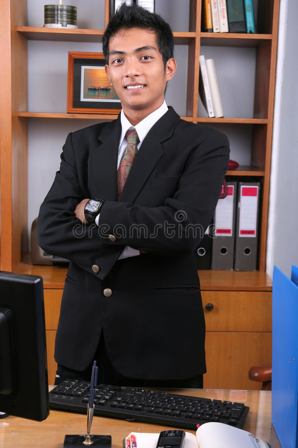 Download Young business executive stock image. Image of call, entrepreneur - 8653825