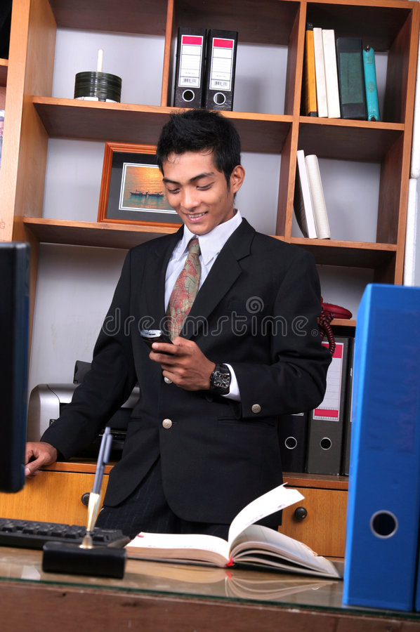 Young business executive stock images
