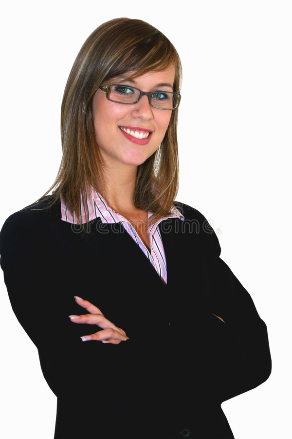 Young Business Girl Royalty Free Stock Images