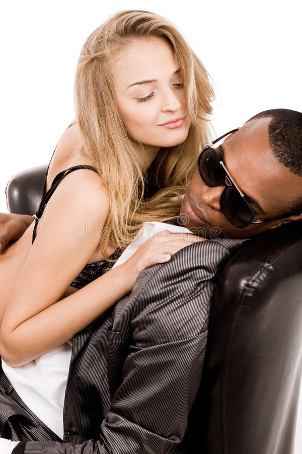 Download Young Business Man Enjoying With A Lady Stock Image - Image: 12463369