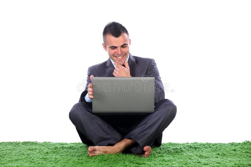 Download Young business man pleased stock image. Image of manager - 24744103