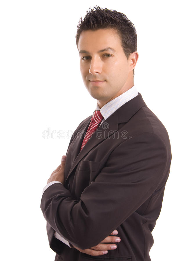 Free Young Business Man Portrait Stock Photos - 12561473