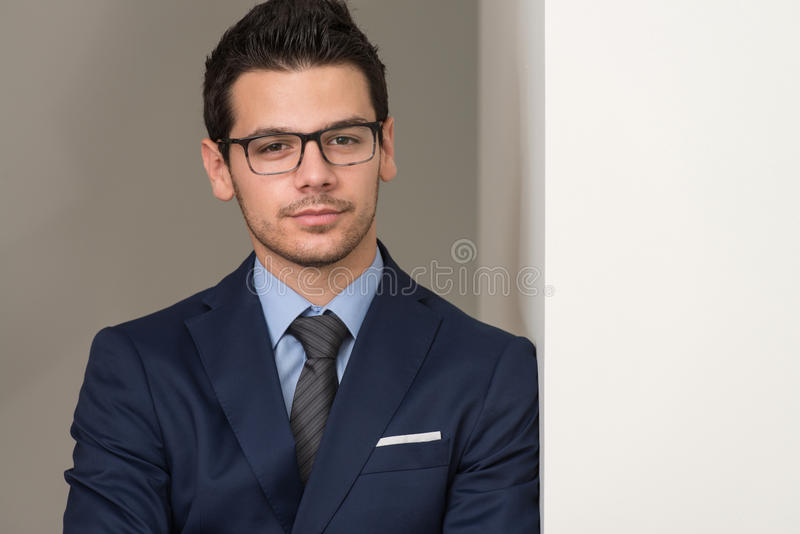 Download Young Business Man Portrait At The Office Stock Photo - Image: 43253838