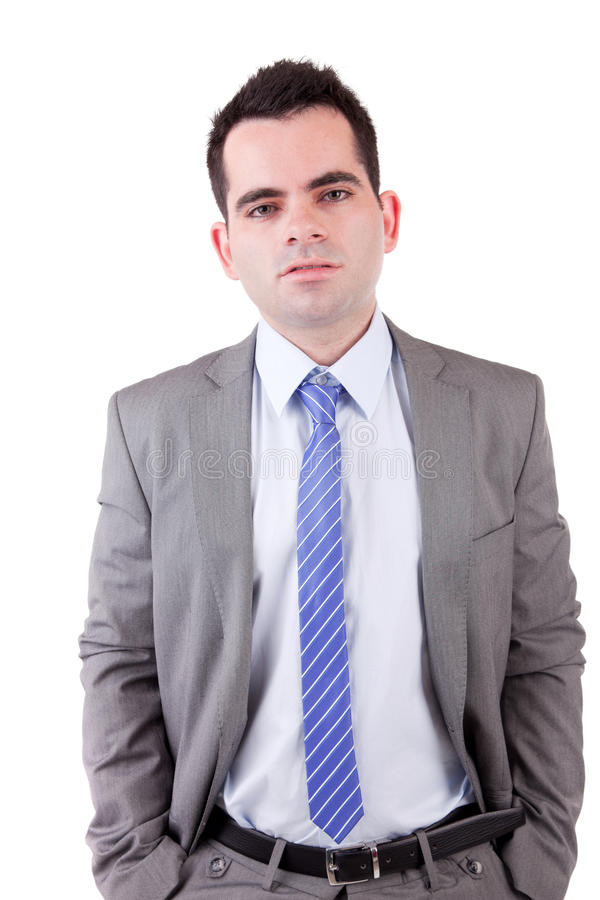 Download Young business man posing stock image. Image of motivated - 14672013