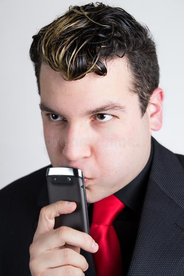 Download Young Business Man Thinking Stock Photo - Image: 33117448
