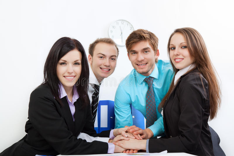 Download Young Business People In Office Stock Photography - Image: 24350432