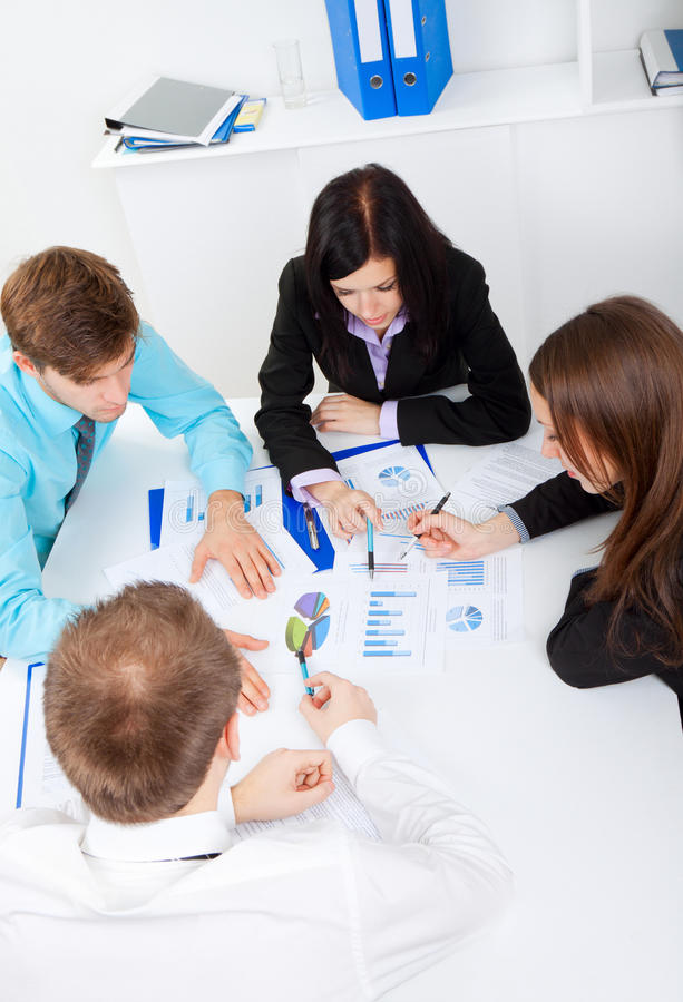 Download Young Business People In Office Stock Photo - Image: 24350500