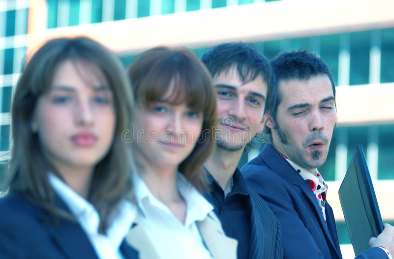 Download Young Business Team stock photo. Image of suit, smart - 1358592
