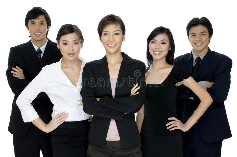 Download Young Business Team stock image. Image of team, women - 1408687