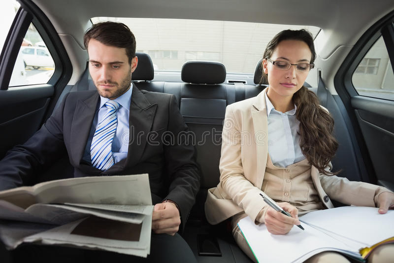 Young business team working together royalty free stock image