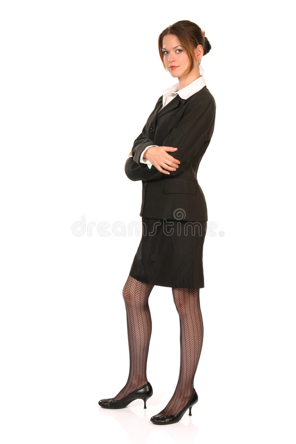 Young business woman 2 royalty free stock image