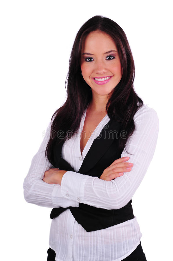 Download Young Business Woman stock image. Image of cute, lady - 23451041