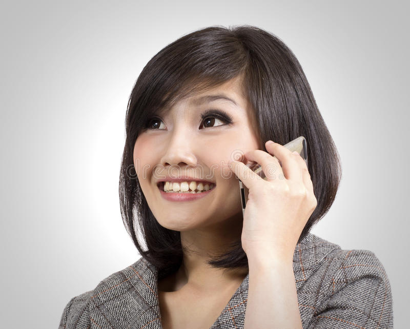 Download Young business woman stock photo. Image of cellphone - 23740240