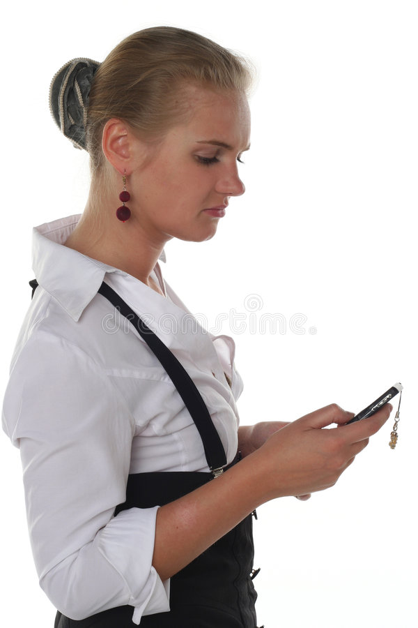 Download Young business woman stock image. Image of communications - 6802891
