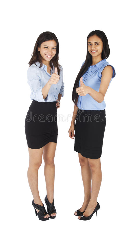 Young business women stock images