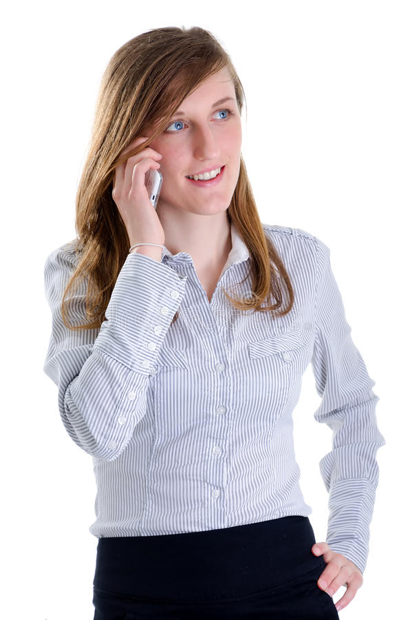 Young business women phone talking