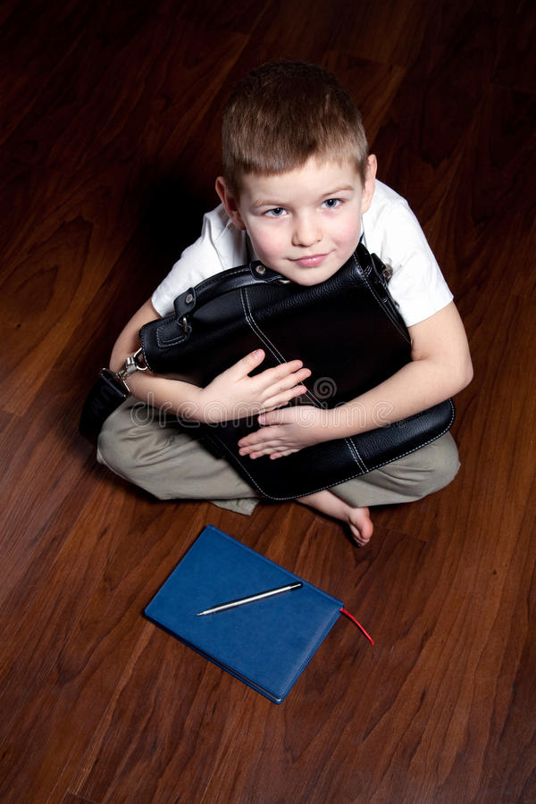 Download Young businessman stock photo. Image of little, business - 12750992