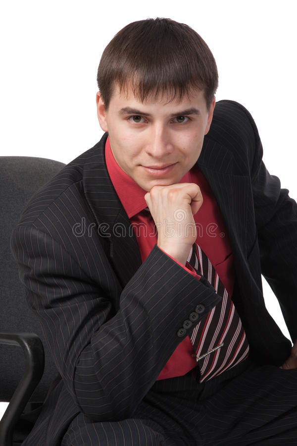 Free Young Businessman Royalty Free Stock Image - 13596396