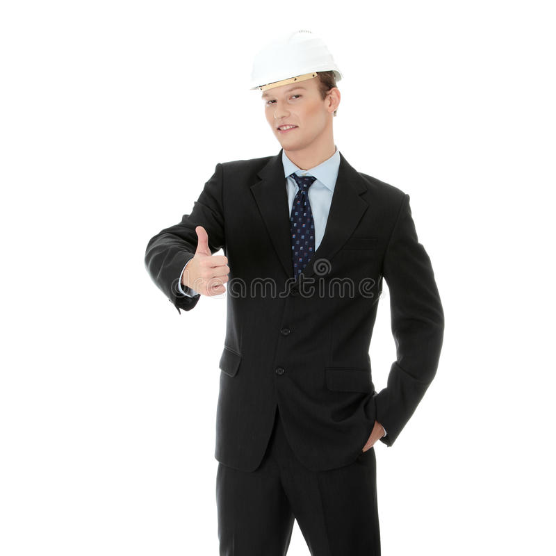 Download Young businessman stock image. Image of male, architect - 17484913