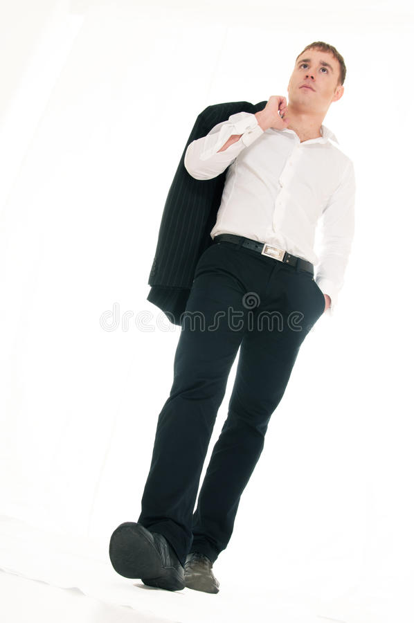 Download Young businessman stock image. Image of masculine, professional - 18832377