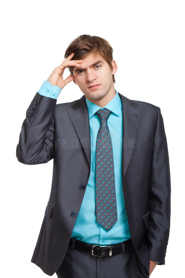 Download Young businessman stock image. Image of career, isolated - 24190657