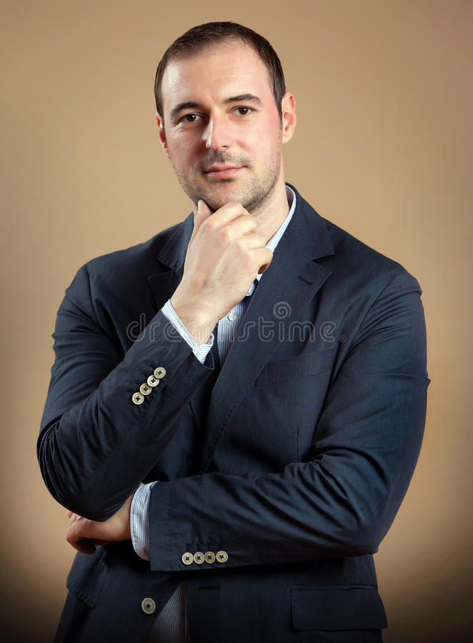 Download Young Businessman stock photo. Image of cool, formal - 25871124