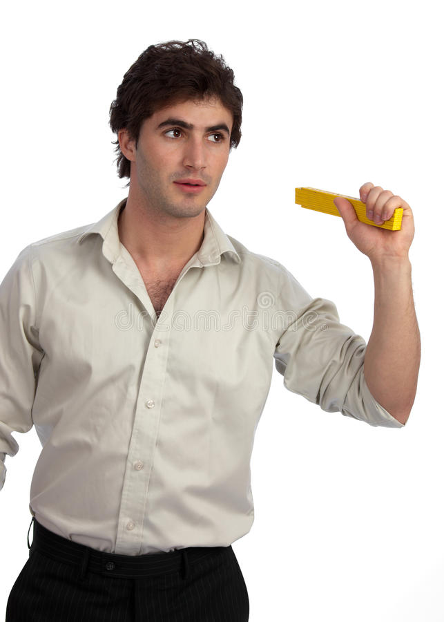 Free Young Businessman, A Doer, Ready For Action Stock Image - 14320361