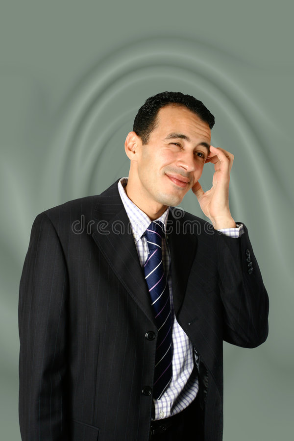 Download Young Businessman Confused Royalty Free Stock Images - Image: 3893939