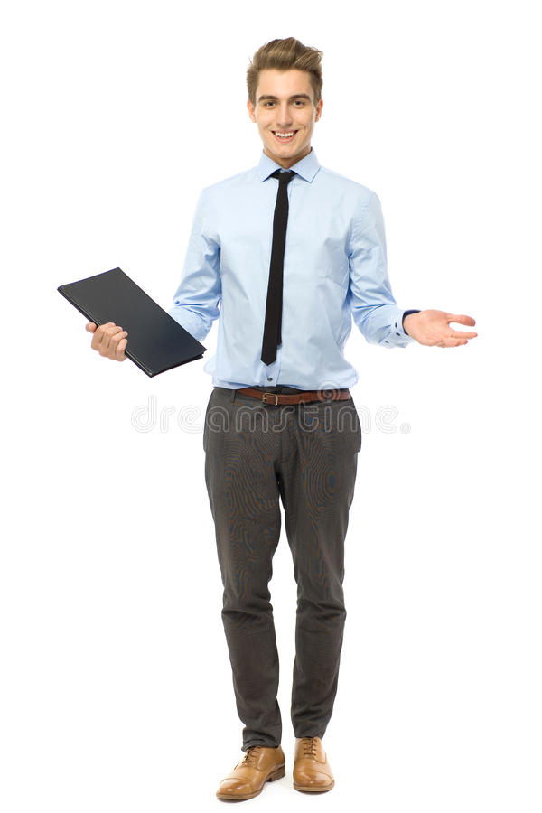 Download Young Businessman Gesturing Stock Image - Image of business, fashionable: 23715155