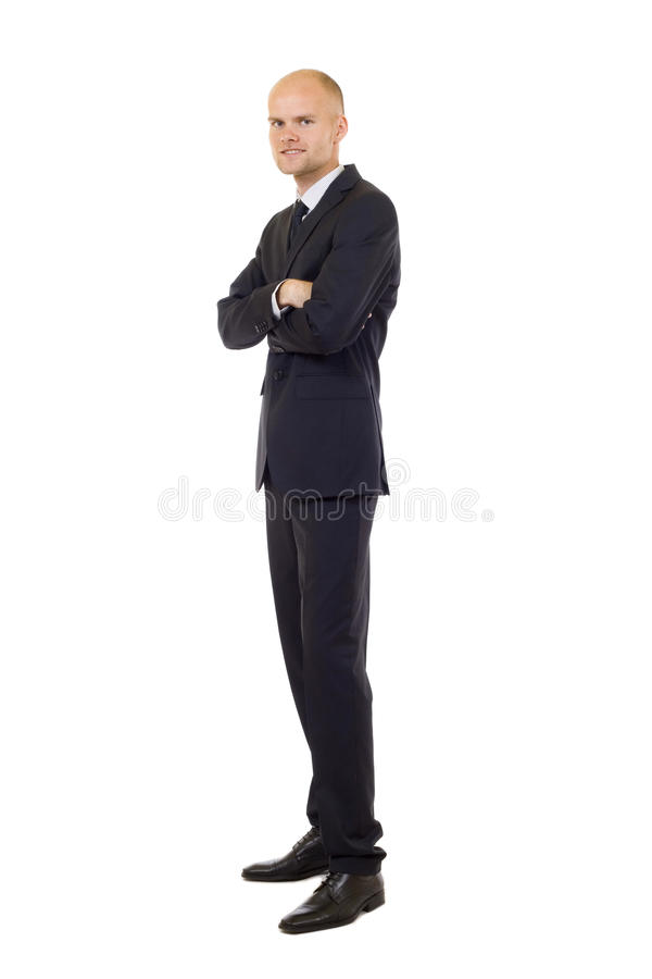 Download Young Businessman Isolated On A White Stock Image - Image: 12918399