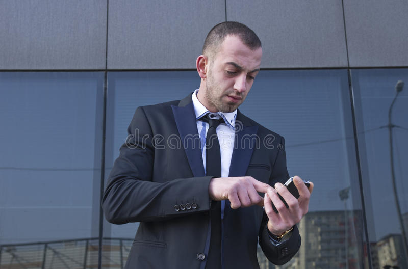 Download Young businessman stock image. Image of positive, happiness - 39500353