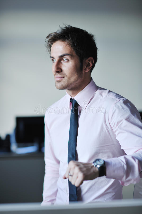 Download Young Businessman At Office Stock Photos - Image: 21624863